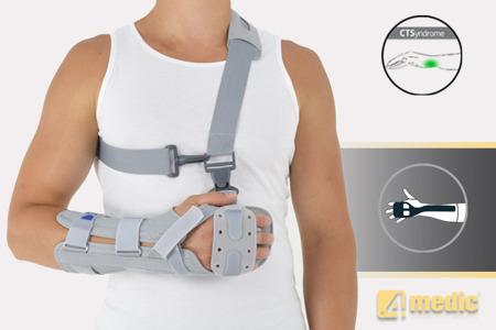 Długa orteza na dłoń i przedramię AM-OSN-L-01