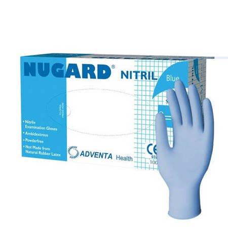Rękawice nitrylowe bezpudrowe a100