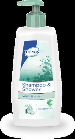 Tena shampoo & shower  - szampon & żel 500ml